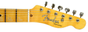 Fender Custom Shop 1952 H/S Telecaster Relic | The Music Gallery | Headstock Front