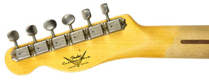 Fender Custom Shop 1952 H/S Telecaster Relic | THe Music Gallery | Headstock Back