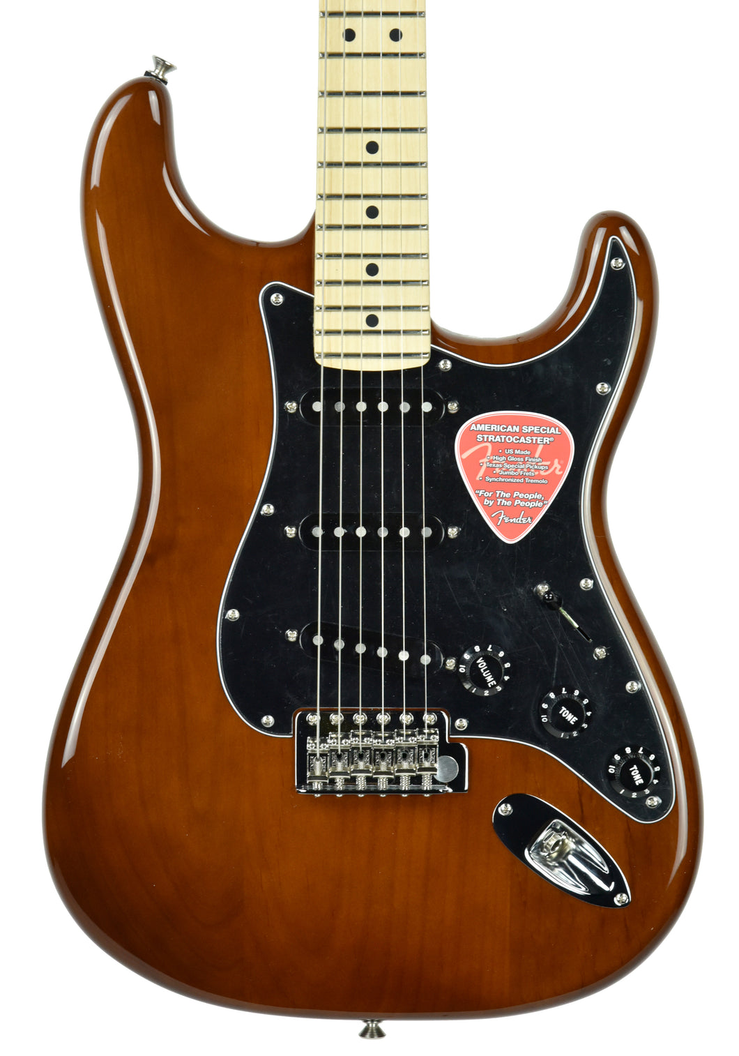 Fender® American Special Stratocaster in Walnut - Front