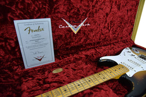 Fender Custom Shop Masterbuilt 1956 Active Stratocaster | The Music Gallery | Open Case Certificate
