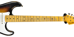 Fender Custom Shop Masterbuilt 1956 Active Stratocaster | The Music Gallery | Neck Front