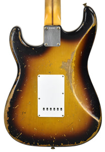 Fender Custom Shop Masterbuilt 1956 Active Stratocaster | The Music Gallery | Back Close