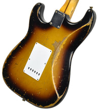 Fender Custom Shop Masterbuilt 1956 Active Stratocaster | The Music Gallery | Back Angle 2