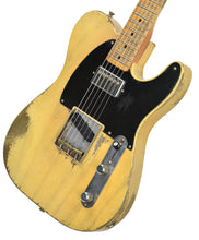 Fender Custom Shop 51 Telecaster Heavy Relic Masterbuilt by Dale Wilson Faded Nocaster Blonde R97330 | The Music Gallery | Front Angle 2