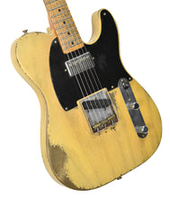 Fender Custom Shop 51 Telecaster Heavy Relic Masterbuilt by Dale Wilson Faded Nocaster Blonde R97330 | The Music Gallery | Front Angle 1