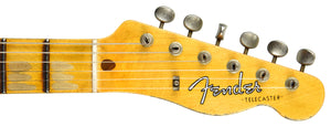 Fender Custom Shop Limited Edition Mischief Maker Olympic White over Three Tone Sunburst CZ541596