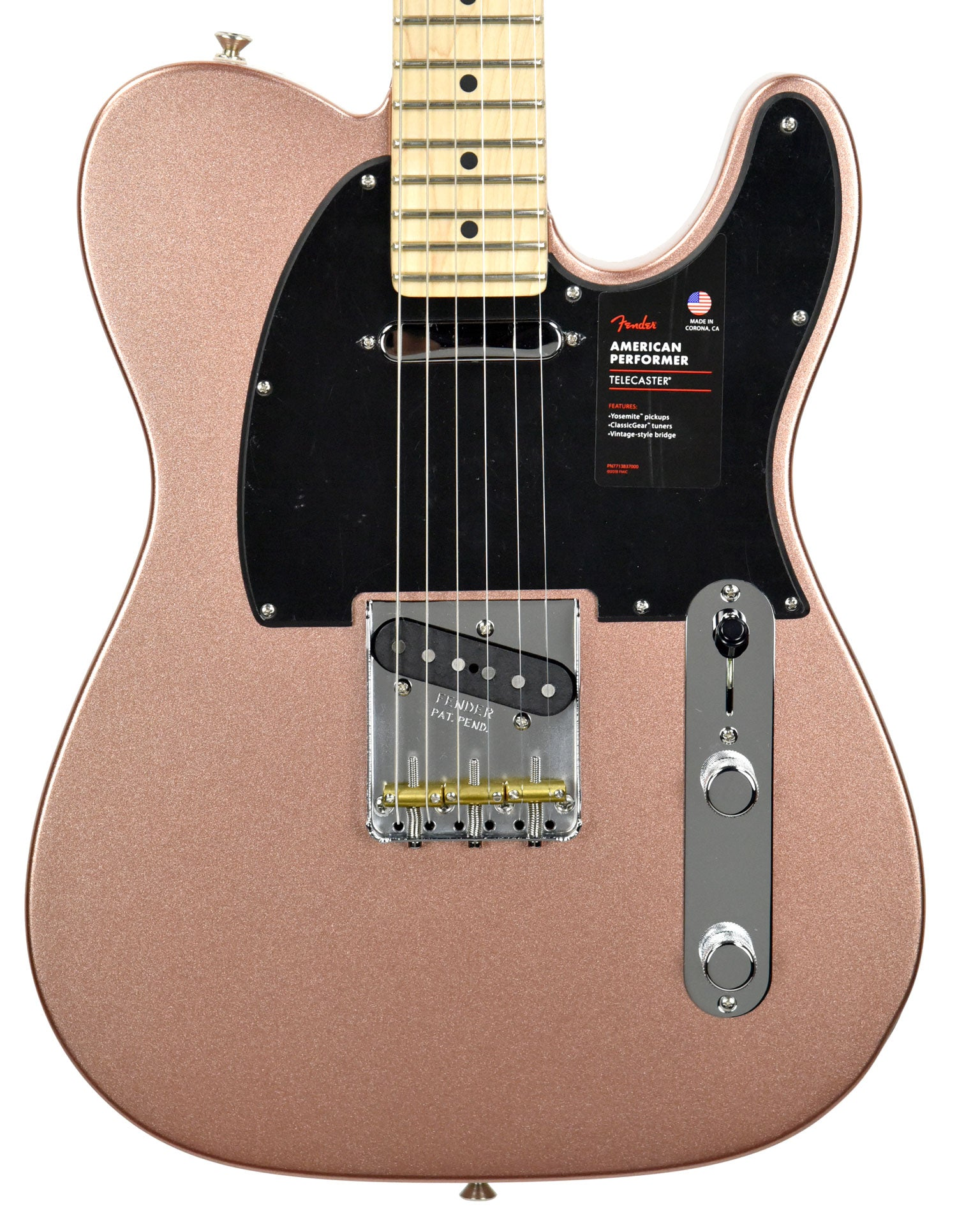 Fender American Performer Telecaster in Penny