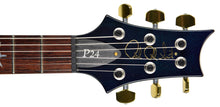2012 PRS P-24 10 Top in Blue Crab Blue | The Music Gallery | Headstock Front