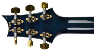 2012 PRS P-24 10 Top in Blue Crab Blue | The Music Gallery | Headstock Back