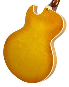 Heritage H-525 in Vintage Sunburst - Back Right