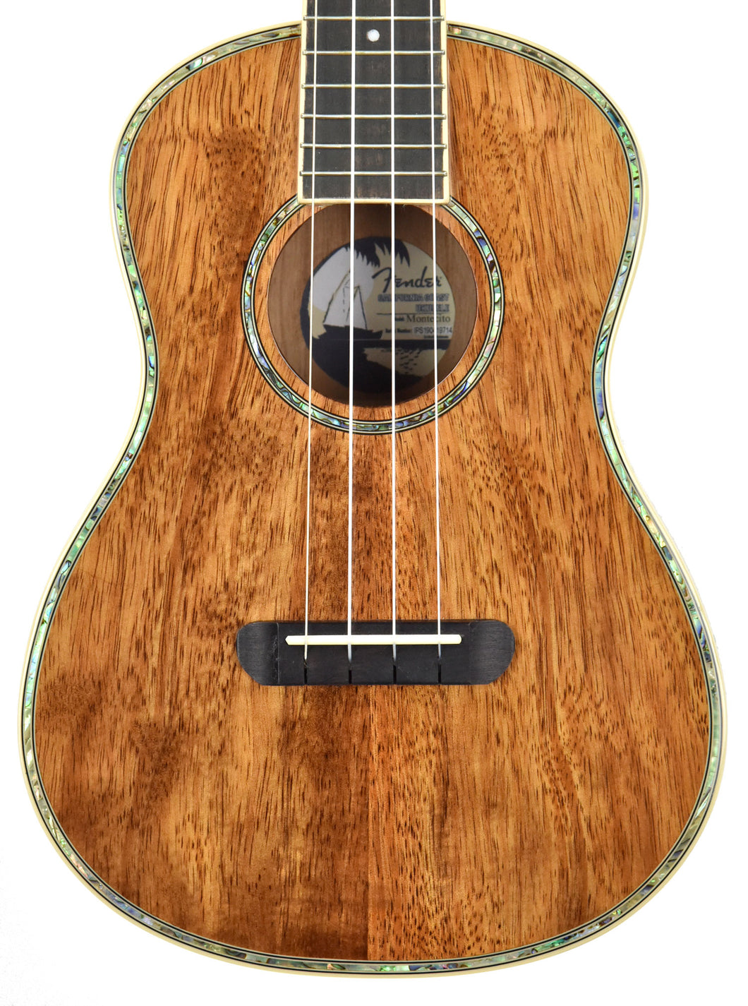 Fender Montecito Tenor Ukulele | The Music Gallery | Front Close