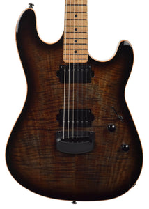 Used Ernie Ball Music Man Sabre in Cobra Burst G90070