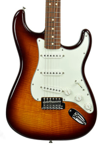 Fender® Standard Stratocaster Plus Top in Tobacco Sunburst - Front
