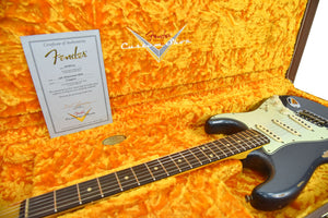 Fender Custom Shop 61 Stratocaster Relic | The Music Gallery | Open Case Certificate