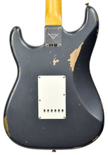 Fender Custom Shop 61 Stratocaster Relic Charcoal Frost Metallic CZ543022