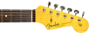 Fender Custom Shop 61 Stratocaster Relic | The Music Gallery | Headstock Front