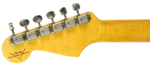 Fender Custom Shop 61 Stratocaster Relic | The Music Gallery | Headstock Back