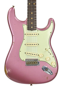 Fender Custom Shop 61 Stratocaster Relic in Burgundy Mist Metallic CZ542891