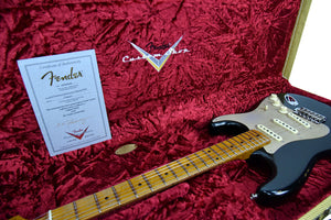 Fender Custom Shop LTD NAMM Roasted 56 Stratocaster | The Music Gallery | Open Case Certificate