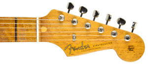 Fender Custom Shop LTD NAMM Roasted 56 Stratocaster | The Music Gallery | Headstock Front