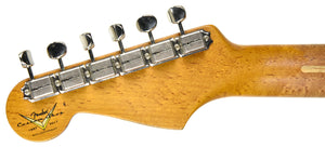Fender Custom Shop LTD NAMM Roasted 56 Stratocaster | The Music Gallery | Headstock Back