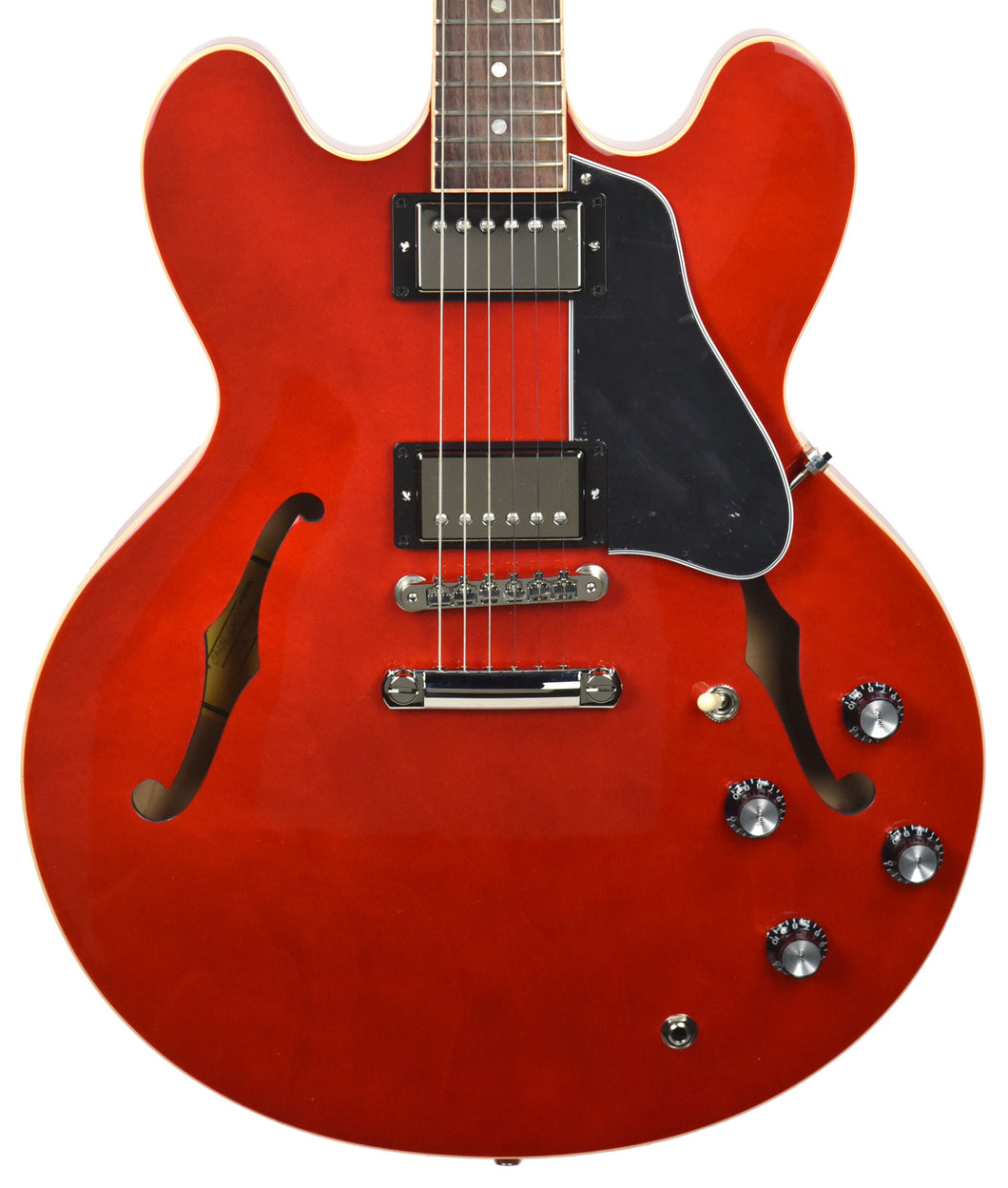 Gibson ES-335 Dot Antique Faded Cherry | The Music Gallery | Front Close