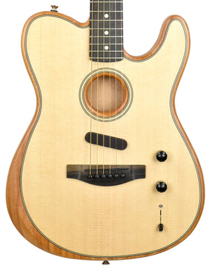 Fender American Acoustasonic Telecaster | The Music Gallery | Front Close
