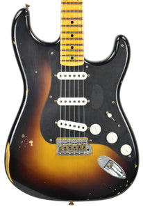 Fender Custom Shop Ancho Poblano Stratocaster Relic | The Music Gallery | Front Close