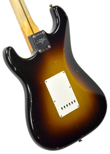 Fender Custom Shop Ancho Poblano Stratocaster Relic | The Music Gallery | Back Angle 1