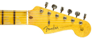 Fender Custom Shop Ancho Poblano Stratocaster Relic | The Music Gallery | Headstock Front