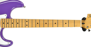 Fender Jimi Hendrix Stratocaster Ultra Violet | The Music Gallery | Neck Front