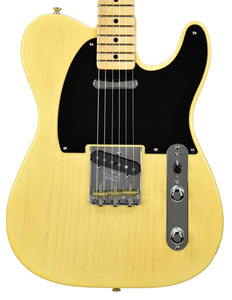 Fender Custom Shop 2017 NAMM 51 Nocaster NOS in Faded Nocaster Blonde R99438 | The Music Gallery | Front Close