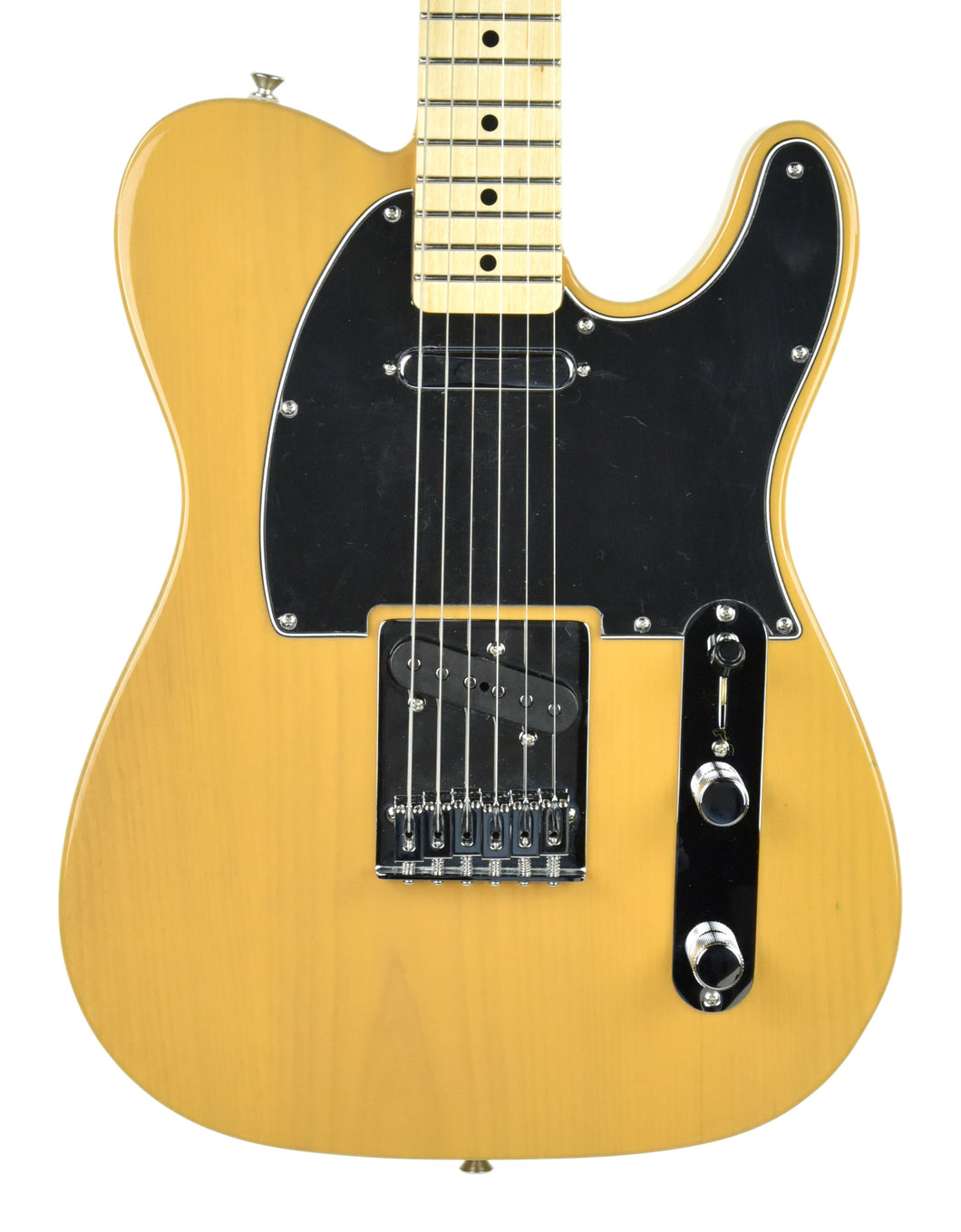 Fender® Standard Telecaster in Butterscotch Blonde - Front