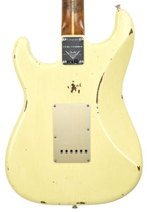 Fender Custom Shop LTD NAMM Roasted 56 Stratocaster Relic in Aged Vintage White CZ541924 - The Music Gallery