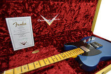 Fender Custom Shop 52 HS Telecaster Relic in Lake Placid Blue R99182 | The Music Gallery | Open Case Certificate