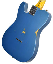 Fender Custom Shop 52 HS Telecaster Relic in Lake Placid Blue R99182 | The Music Gallery | Back Angle 1