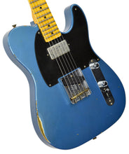 Fender Custom Shop 52 HS Telecaster Relic in Lake Placid Blue R99182 | The Music Gallery | Front Angle 2