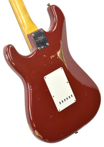 Fender Custom Shop 61 Stratocaster Relic in Cimarron Red CZ543064 - The Music Gallery