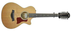 Taylor 552ce 12 String Acoustic Guitar | Front Large