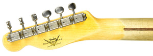Fender Custom Shop 52 H/S Telecaster Relic Faded Nocaster Blonde R99068 - The Music Gallery