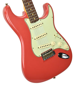 Fender Custom Shop 63 Stratocaster Journeyman Relic in Fiesta Red R100615