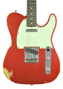 Fender Custom Shop 1960 Telecaster Custom Relic Candy Apple Red | Front | The Music Gallery