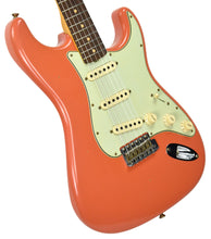 Fender Custom Shop 63 Stratocaster Journeyman Relic in Fiesta Red/Salmon Pink R98152