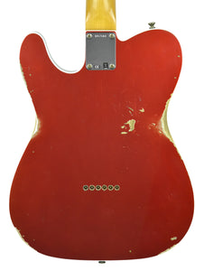 Fender Custom Shop 1960 Telecaster Custom Relic Candy Apple Red | Back | The Music Gallery