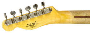 Fender Custom Shop 52 H/S Telecaster Relic | The Music Gallery | Headstock Back