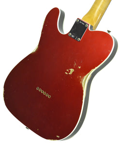 Fender Custom Shop 1960 Telecaster Custom Relic Candy Apple Red | Back Right | The Music Gallery