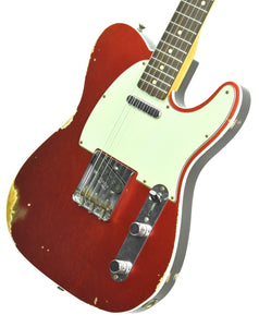 Fender Custom Shop 1960 Telecaster Custom Relic Candy Apple Red | Front Right | The Music Gallery