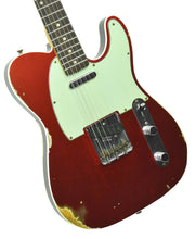 Fender Custom Shop 1960 Telecaster Custom Relic Candy Apple Red | Front Left | The Music Gallery