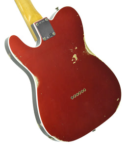 Fender® Custom Shop 1960 Telecaster Custom Relic Candy Apple Red | Back Left | The Music Gallery