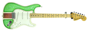 Used Fender Custom Shop Low Rider Stratocaster Todd Krause Masterbuilt Troy Lee Designs | Front Full